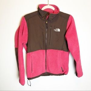 The North Face Pink Polartec Full ZIP Jacket S